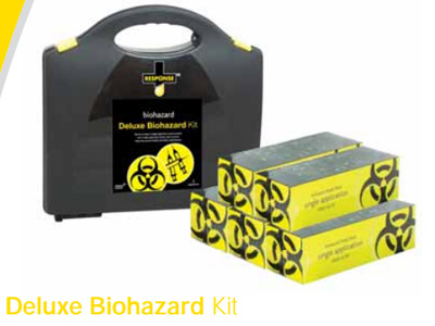 Deluxe Biohazard Kit