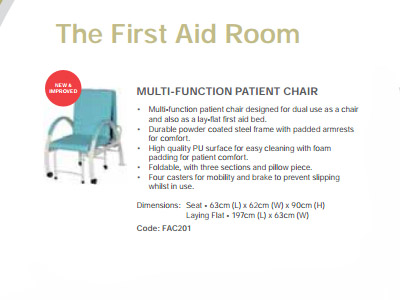MULTI-FUNCTION PATIENT CHAIR
