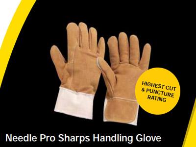 Needle Pro Sharps Handling Glove