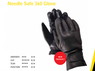 Needle Safe 360 Glove