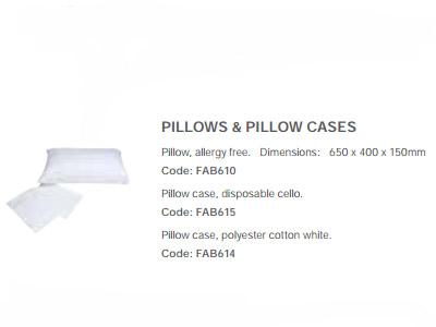 Pillows & Pillow Cases