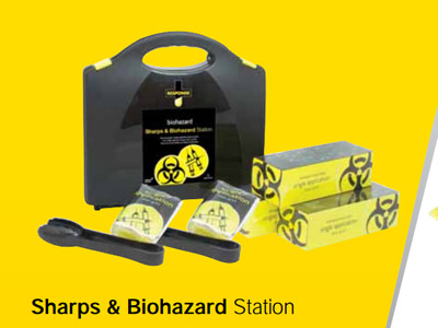 Sharps & Biohazard Station