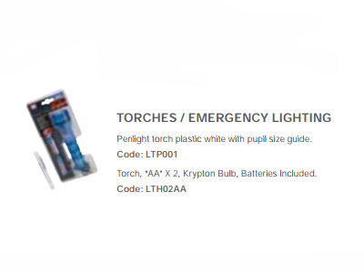 Torches & Emergency Lighting