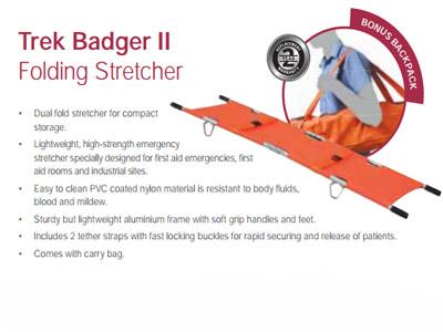 Trek Badger II Folding Stretcher