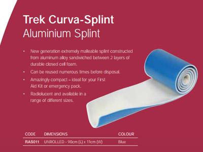 Trek Curva-Splint Aluminium Splint