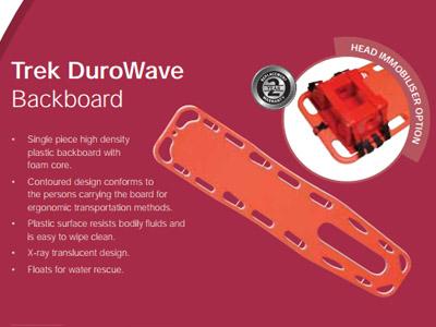 Trek DuroWave Backboard