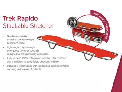 Trek Rapido Stackable Stretcher